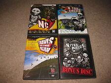 The Nitro Circus Series 4 Disc DVD Collectors Edition Set Travis Pastrana NO TIN