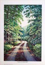 Michael M Rogers  2 art prints from Appalachian Trail series  LTD ED   S/N   COA
