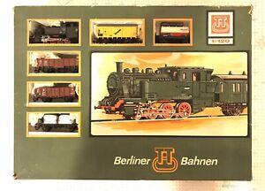 Berliner Bahnen TT (1:120) Scale Train Set Missing Tracks OB