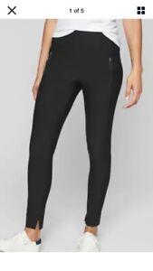 NWT $98 ATHLETA Stellar Tight Women's SP Black Travel Pants/Leggings