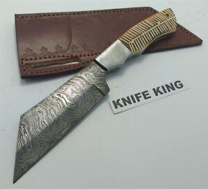 Damascus Steel Hand Crafted Broken Arrow Knife
