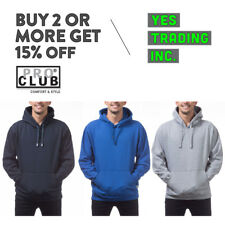 PROCLUB PRO CLUB MENS HEAVYWEIGHT PULLOVER HOODIE CASUAL HOODED SWEATSHIRTS