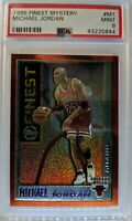 1995 95-96 Topps Mystery Finest Michael Jordan #M1, PSA 9 Mint, Pop 56, Only 39^