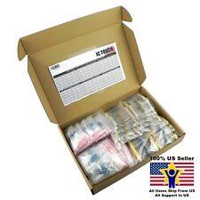 300value 2800pcs Carbon Metal Film Resistor +/-1% Box Kit US Seller KITB0148