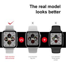 """LEMFO DT.NO1 Smartwatch 1.78"""" 420*485 HD ECG pressione misuratore intelligente"""