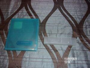 NES BLUE PLASTIC PROTECIVE CASE & SNES PLASTIC DUST COVER