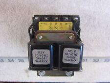 Warrick Controls Gems 1H1E0 115/500V 2NC 1NO Control Relay, New
