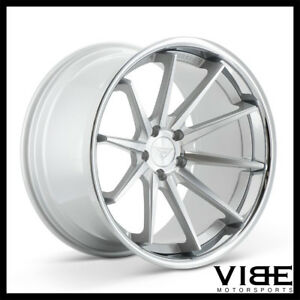 "20"" FERRADA FR4 SILVER CONCAVE WHEELS RIMS FITS HONDA ACCORD"