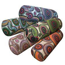 Bolster Cover*DandelionCotton Canvas Neck Roll Tube Yoga Massage Pillow Case*AF7