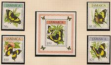 Butterflies Sheet Caribbean Stamps
