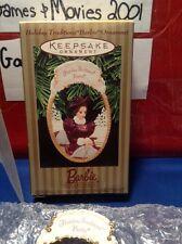 1997 Hallmark Ornament Barbie Holiday Traditions Homecoming Keepsake Brand New