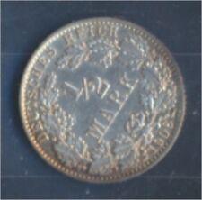 alemán Imperio Jägernr: 16 1906 zonas Flor di cuño Plata 1906 1/2 marcos(7859376