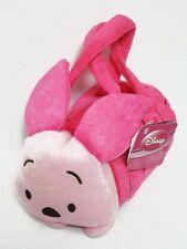 Piglet Cylinder Plush Handbag Women Girl's Purse Bag Disney Winnie the Pooh