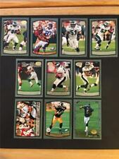 1999 Topps Collection Philadelphia Eagles Team Set 10 Cards Donovan McNabb RC