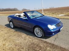 Mercedes-Benz CLK 500 Cabrio Cabriolet V8 Tüv neu Leder Navi Xenon AHK kein Rost