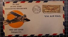 Scott C19 - Winged Globe - Beverly Hills FDC - Unaddressed - # 694