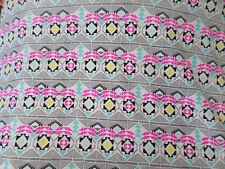 1 yd prints   fabric good weight 4 way stretch  spandex lycra J4976