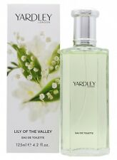 YARDLEY LILY OF THE VALLEY EAU DE TOILETTE 125ML SPRAY - WOMEN'S FOR HER. NEW