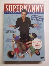 Supernanny - Season 1 (DVD, 2006, 3-Disc Set)  NEW/SEALED Target Exclusive