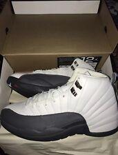 *NEW* Air Jordan 12 Retro (2003) White/Flint Grey. Size 11.5. RARE.