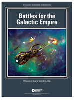Decision Games Folio Game Series Battles for the Galactic Empire 1638