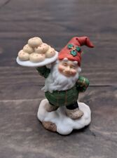 Fitz and Floyd Holiday Hamlet Pastry Vendor no box Christmas Figurines
