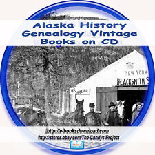 Alaska State History Genealogy 125 Yukon Gold Wilderness Territory  Books DVD