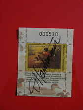 1990 Australian Wetlands Conservation Duck Stamp Signed by Artist Jim Hautman