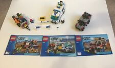 LEGO City Lot - 4433, & 7286 With Manuals