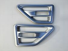 LAND ROVER FREELANDER 2 BRUSHED CHROME SIDE VENT TRIM,2008-15.
