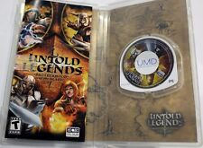 Sony PSP   Untold Legends - Brotherhood Of Blade  Video Game -