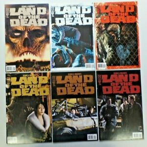 LAND OF THE DEAD Comic Book Run #1-5 with Extra #4 Variant 6 IDW 2005 Horror 303