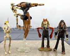 Star Wars Episode 1 Stap w/ Battle Droid OOM-9 Captain Tarpals & Jar Jar Binks