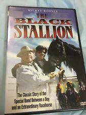 The Black Stallion DVD Video, Starring Mickey Rooney