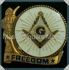 Freemason Freedom Lapel Pin