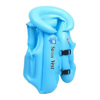 Kids Children Inflatable Swimming Pool Toy Float Training Vest Aid Jacket 2