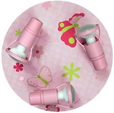 Kinderleuchte Deckenleuchte rosa Schmetterlinge Papillon 3-flg. [A++]