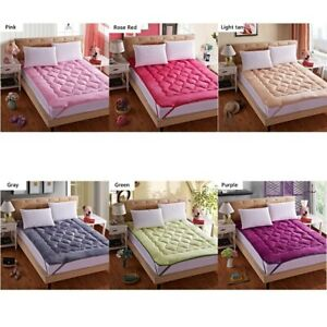 Soft Tatami Thick Warm Foldable Single Double Mattress Fashion Topper Quilte Bed