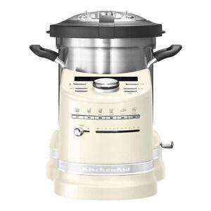 KitchenAid Artisan 5KCF0103E Cook Processor Factory Serviced Edelstahltopf