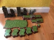 Mega Bloks Bases Plates Terrain Platforms Grass Dragon   Lot Lego Compatible #5