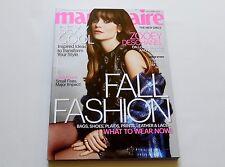 Zooey Deschanel Marie Claire Magazine September 2013 New