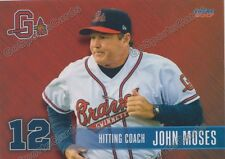 2017 Gwinnett Braves John Moses Atlanta Braves HC