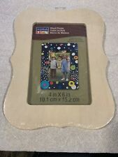 """Artminds Wood Frame For 4"""" X 6"""" Picture Frame Kit"""