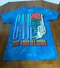 Guns N Roses Use Your Illusion T shirt Logo Metal Rock Tie Dye Small Bravado