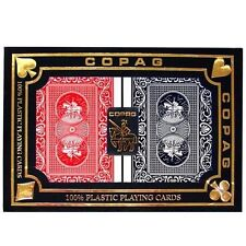 COPAG Plastic Playing Cards Magnum Index Poker Size New
