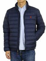 Polo Ralph Lauren Men's Down Pony Full Zip Packable Jacket Navy Size L NWT ⭐️