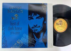 George Harrison Best of Dark Horse Record LP Original 1989 Club EX Vinyl Beatles