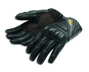 Ducati Alpinestars Scrambler Daytona Leather Gloves Black New