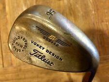 Titleist Vokey Wedge BV 256*12 Raw Mild 8620/56 Degrees Steel Wedge Flex R/H 36""