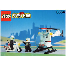 LEGO SET 6664 - CHOPPER COPS (Town / Police Series) Complete